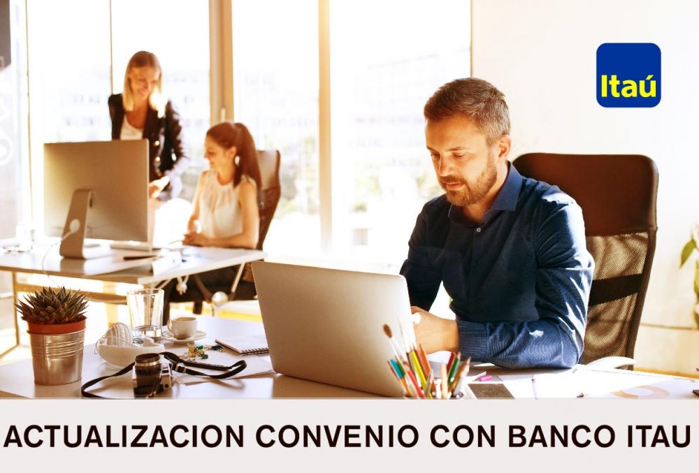 Convenio con el Banco ITAU 2019