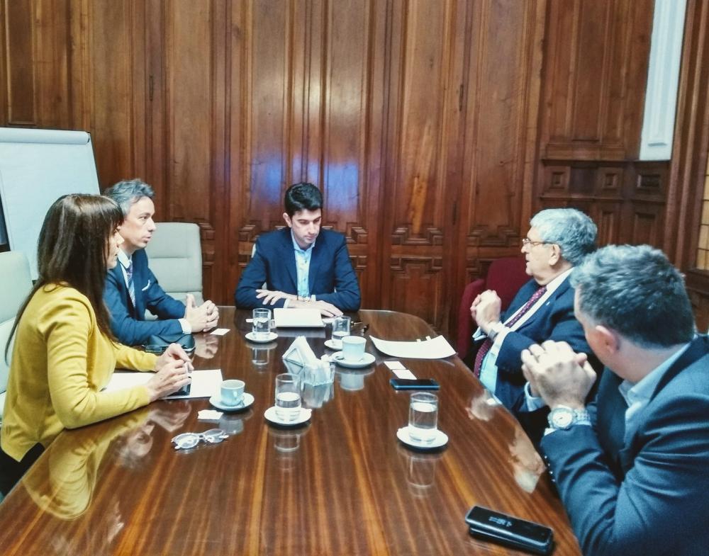 El COLEGIO PROFESIONAL INMOBILIARIO firma un acuerdo con el Registro Nacional de las Personas (RENAPER)
