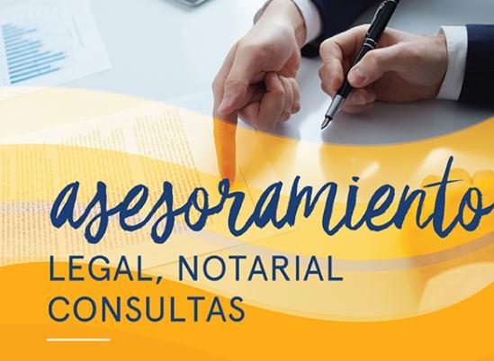 Asesoramiento Legal y Notarial. Consultas