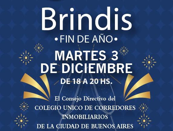 BRINDIS DE FIN DE AÑO