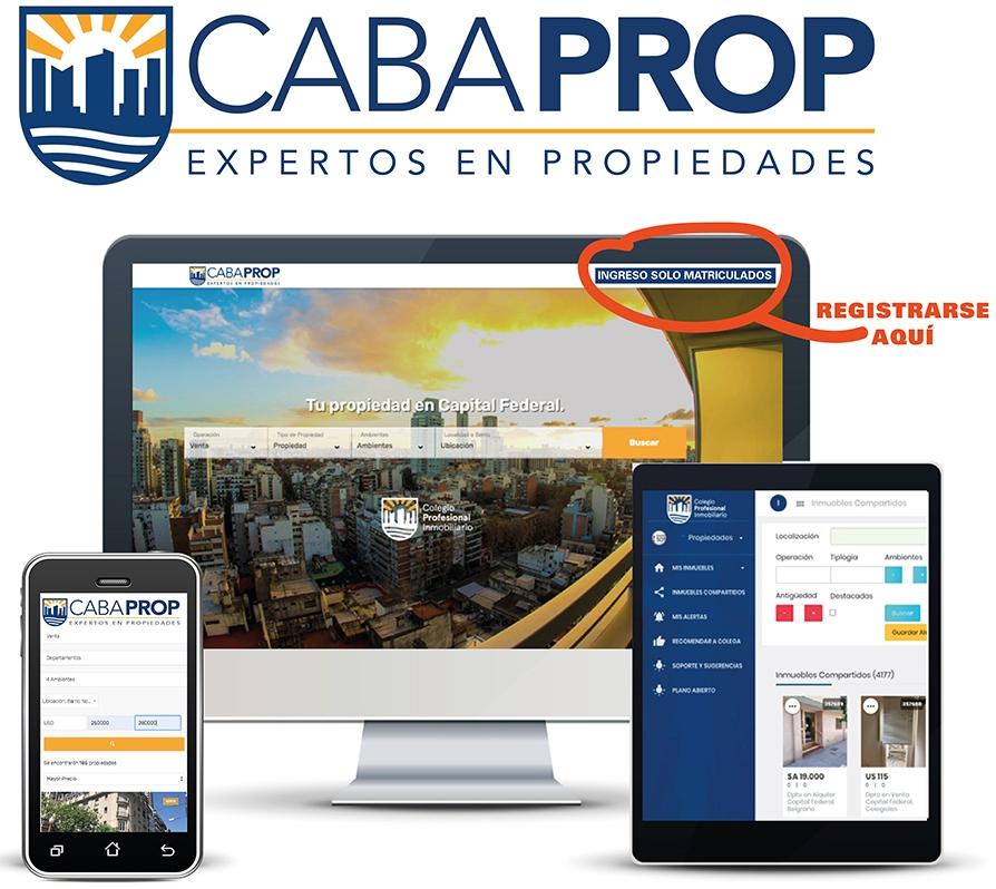CABAPROP. Nuestro Portal Inmobiliario